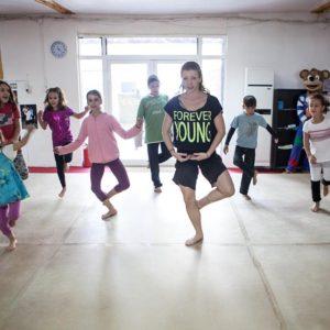 Съвременни танци – деца